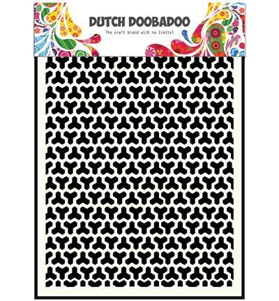 Dutch Mask Art, Geomatric Blocks