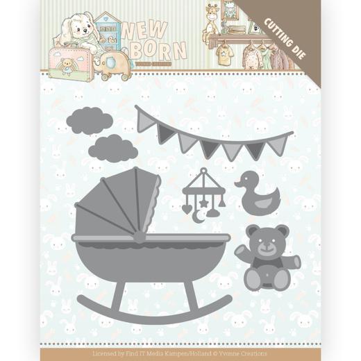 Snijmal- Yvonne Creations - Newborn - Baby Crib