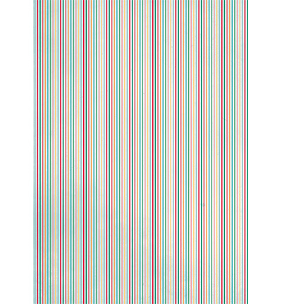 Achtergrond papier A4 - Colored stripe pattern