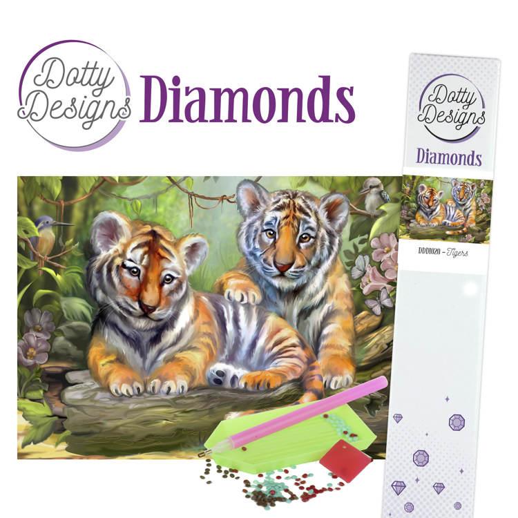Dotty Designs Diamonds - Tigers