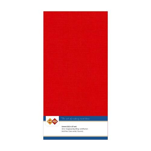 Linnenkarton - 4K - Rood