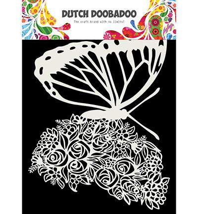 Dutch Mask Art, Butterfly