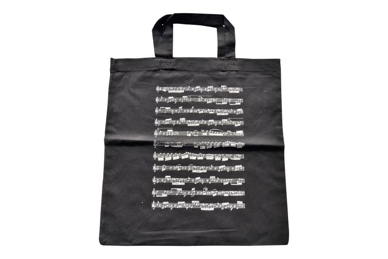 Muziektas Muzieknoten zwart