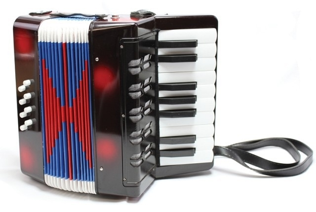 Accordeon zwart