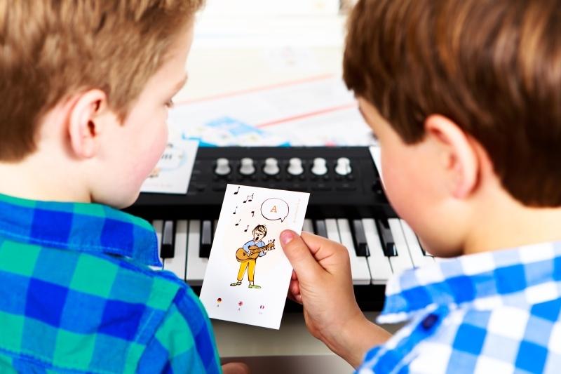 Leer je muzieknoten & Instrumenten Kwartet