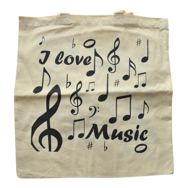 Muziektas I Love Music