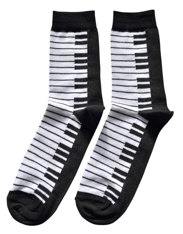 Sokken Pianotoetsen