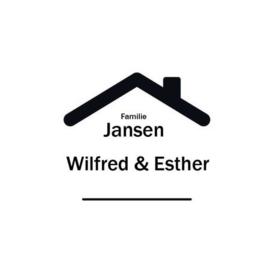 Voordeur familie naam sticker