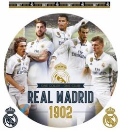 Real Madrid CF muursticker Golden Boys 2 stickervellen