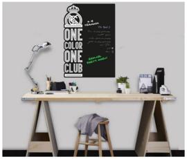 Real Madrid CF krijtbord muursticker One Color 50 x 70 cm