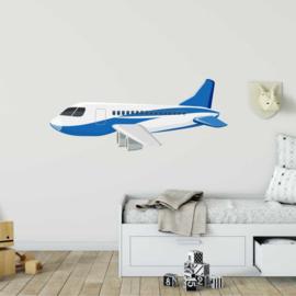Muursticker vliegtuig