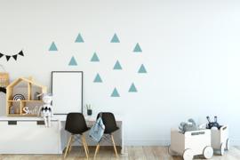 Muursticker setje driehoekjes