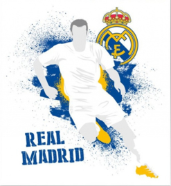 Real Madrid CF muursticker logo urban 2 stickervellen