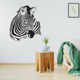 Muursticker Zebra 2