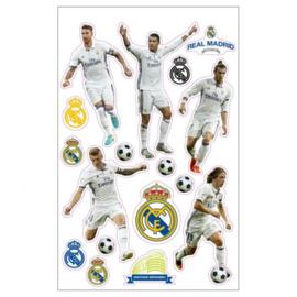Real Madrid CF stickers spelers 17 stuks