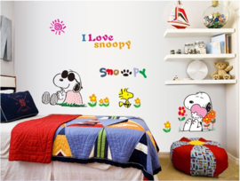 Muursticker Snoopy