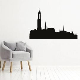 Muursticker skyline Utrecht