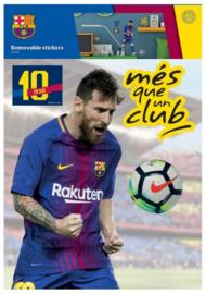 FC Barcelona muurstickers Messi 2 stickervellen