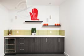 keukensticker 'ovenwant' diverse kleuren