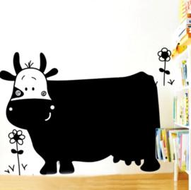 krijtbord muursticker met koe