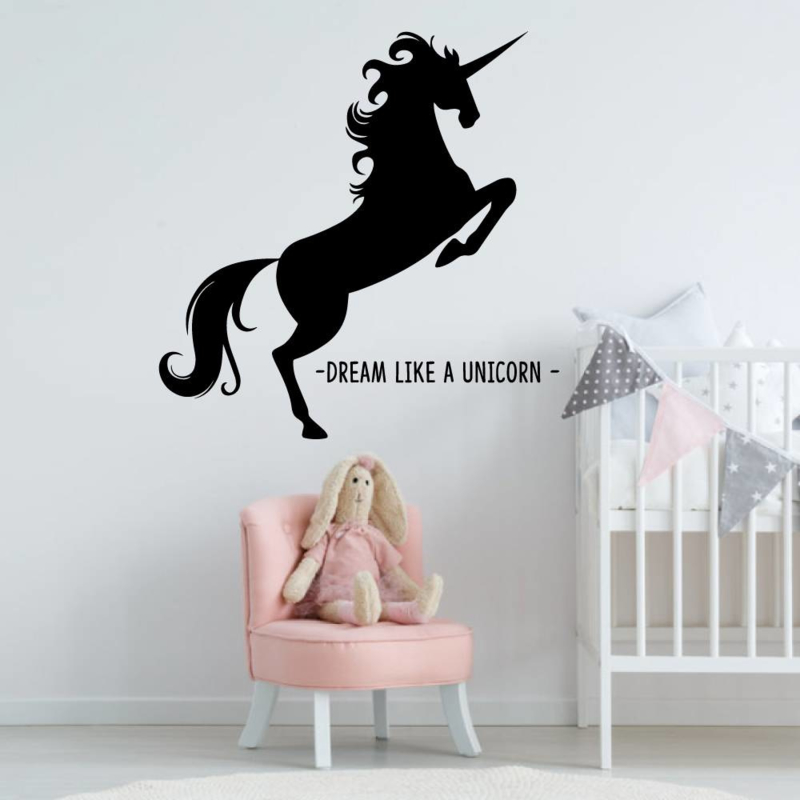 Muursticker Unicorn