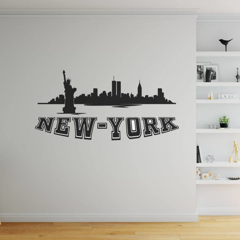 Muursticker New York