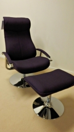 Relaxfauteuil Nelson stof