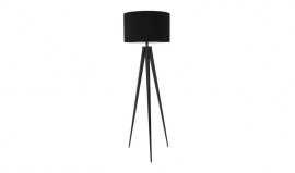 Staande lamp Tripod black
