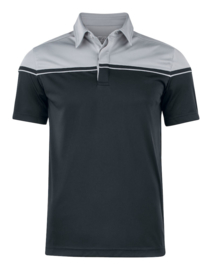 Seeback polo heren grey/black