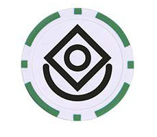 Poker cip ballmarker Monaco