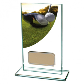 Glas Golf Trofee Collour Curve