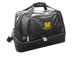 Leatherette players holdall
