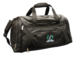 Leatherette sports holdall