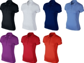 Nike Womens short sleeve victory polo