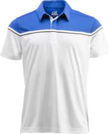 Sunset polo heren en dames royal blue