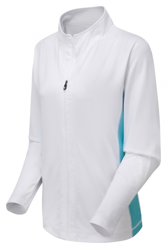 FootJoy Women full zip knit chill out pullover