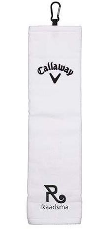 Callaway trifold golfhanddoek