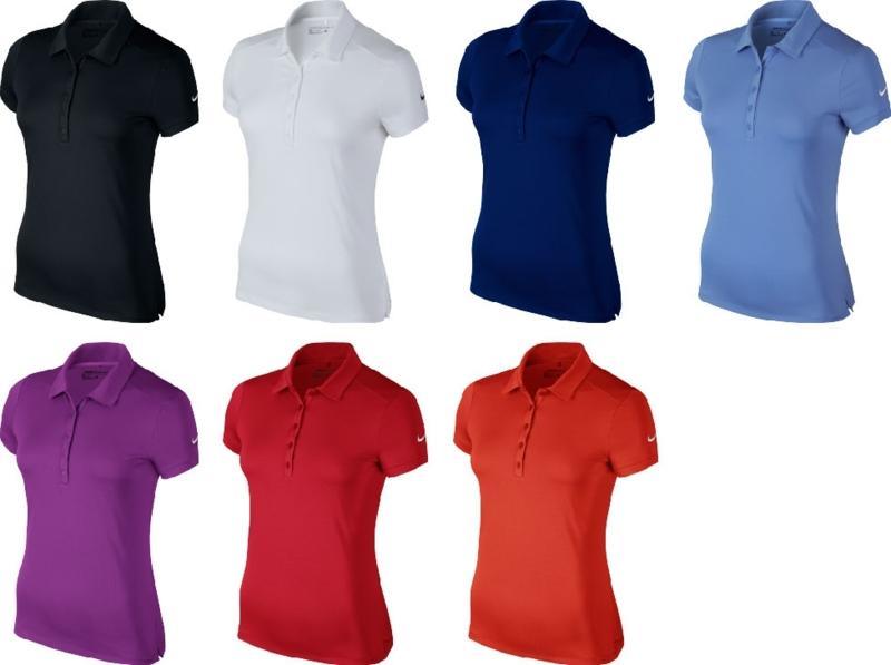 Nike Womens short sleeve victory polo