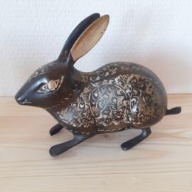 Messing bewerkt konijn