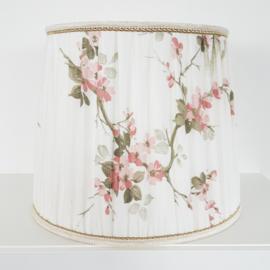 Vintage lampenkap gebloemd