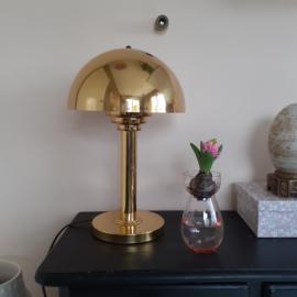 Mushroomlamp goud