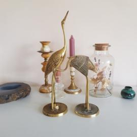 Messing kraanvogel set