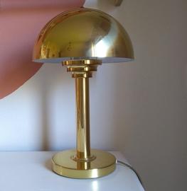 Tafellamp goudkleurig