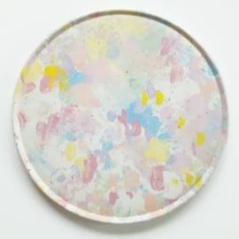 Onderzetters pastelkleur