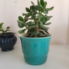 Bloempot Adcostijl turquoise