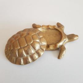 Schildpaddoosje messing