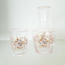 Karaf met bijbehorend glas