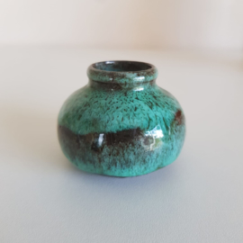Klein turquoise vaasje
