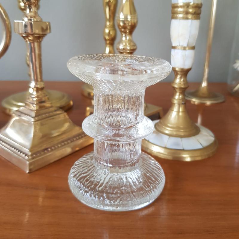 Kandelaar glas boomstam