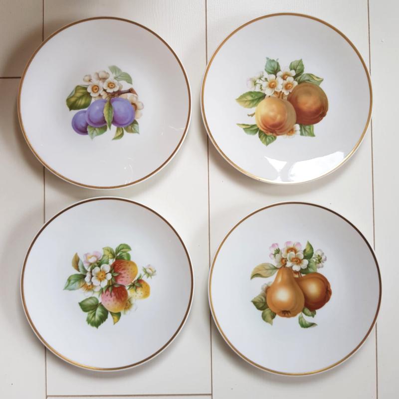 Fruitbordjes set